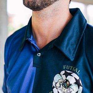 Camiseta pólo personalizada